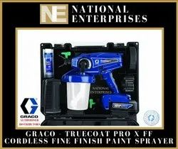 Truecoat Pro X Ff Cordless Graco Fine Finish Paint Sprayer