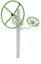 Outdoor Green Gym Equipment Tripal Shoulder Builder
