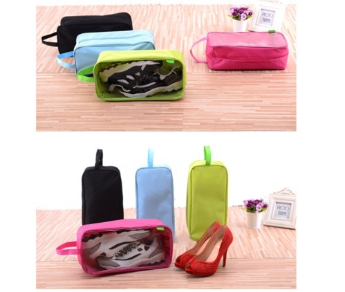 358203b734b1 New Arrival Luggage Accessories Transparent Waterproof Shoe Bags Travel  Dustproof Portable Shoes Bag