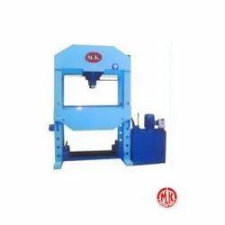 Semi-Automatic Motorized Hydraulic Press