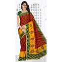 Ladies Bandhani Printed Saree