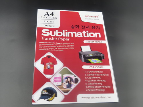 Presto Sublimation Paper for Printing