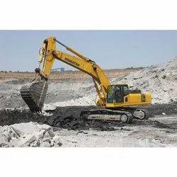 L&T Komatsu PC130 Excavator Rental Service