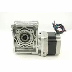 Helical Worm Geared Stepper Motor