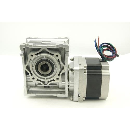 Helical Worm Geared Stepper Motor, Model Name/Number: Nema 23/24/42