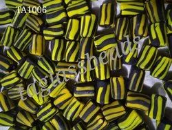 Italian Murano Satin Frosted Glass Beads
