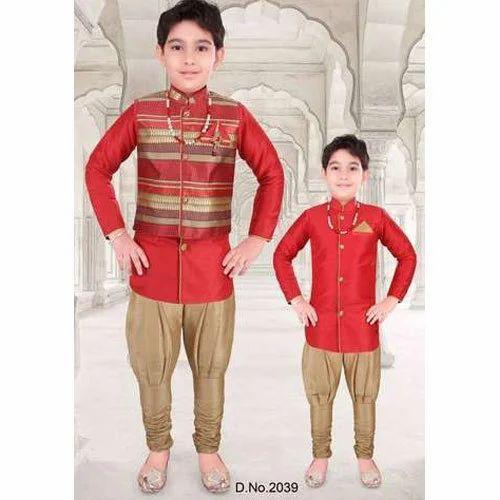 4579b1db Boys Indo Western Set at Rs 875 /set   Kids Indo Western Wear   ID ...