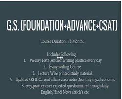 Foundation Course CSAT