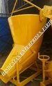 Concrete Column Filling Banana Bucket