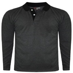 Plain Casual Polo Shirts
