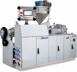 Pvc Pipe Making Machine Plastic Twin Screw Extruder Machine, Automation Grade: Semi-Automatic, 40-80