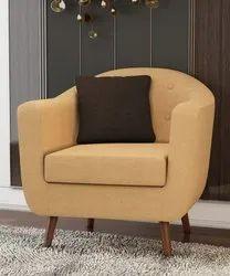 Yellowish Brown Plain Molfino Sofa Upholstery Fabric Molfino, Packaging Type: In Rolls