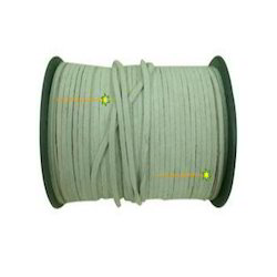 Light Green Suede Leather Cord Leather Laces