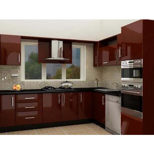 Simple Kitchen Design Hpd453: Brilliant Indian Kitchen At Rs 110000 /set