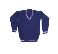 Full Sleeve School Uniform Pullover, Size: S, M and L
