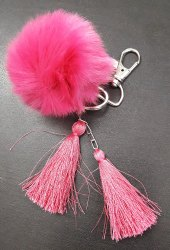 Key Chain Pom Pom Toy