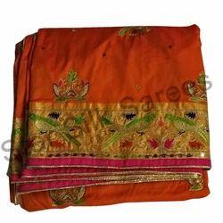 Wedding Wear Silk Saree, With Blouse Piece