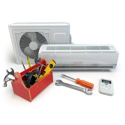 Split AC Split Air Conditioner Installation Service, for Residential, Copper