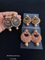 Exclusive Mint Meena Earrings