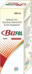 Carbonyl Iron, Folic Acid, Vitamin B12 & Zinc Syrup