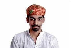 Bandhej Paghadi - Rajasthani Multicolor Safa,