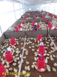 Modular Broiler Poultry Shed