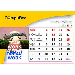Paper Calendar Printing Services, in Pan India