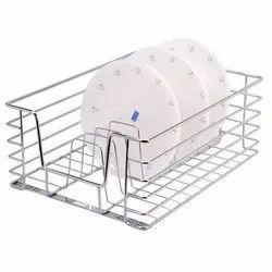 Stainless Steel Modular Kitchen Storage Basket