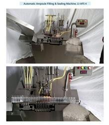 LLP Automatic Ampoule Filling Machine (Four Head), 4 Head