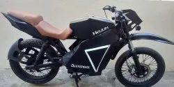 Handmade electric motorcycle