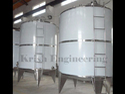 Stainless Steel Industrial Storage Tank