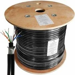 Black D Link 305m Cat6 Armoured Cable