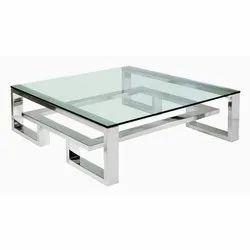 Modern Designer Glass Centre Table for Hotel