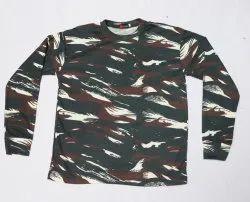 Army CRPF T-Shirts GG Full Sleeves