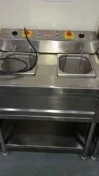 Twin Type Deep Fryer