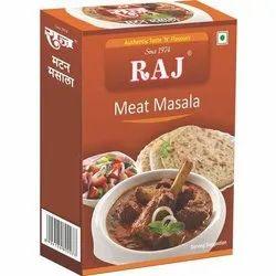 Raj Meat Masala, Packaging Type: Box, Packaging Size: 100 g