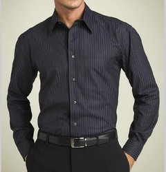 Formal Wear Plain, Checks Mens Formal Shirt
