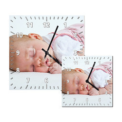 Sublimation Square Clock
