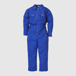UB-DUNG-BLU-ZIP-0017 Blue Dungaree Cover All