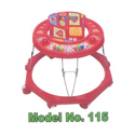 8 Wheels Baby Walker