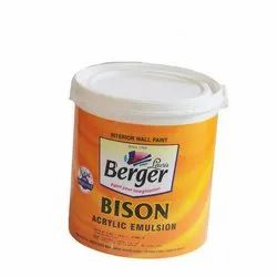 High Gloss Berger Bison Super Emulsion for Home, Packaging Type: Bucket