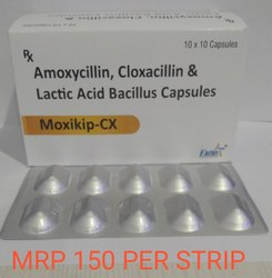 Amoxicillin 250 Mg, Cloxacillin Sodium 250 Mg And Lactic Acid 1.7 Tablets
