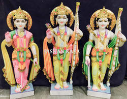 Ram Darbar Statue Colorful