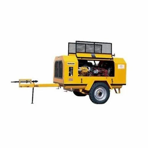 Air Compressor Rental And Hiring Services - Diesel Air Compressor