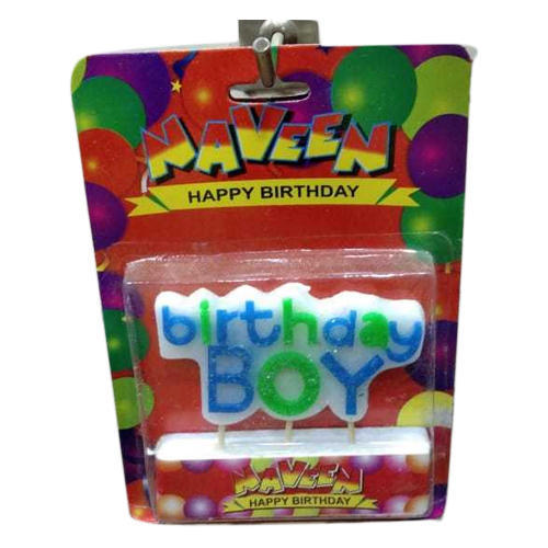 Naveen Birthday Boy Candle