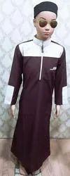 Cotton Plain Islamic Men Dress, Size: S-XL