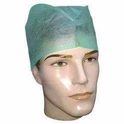 Surgeon Cap 3 Ply, Size: Free