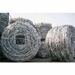 Polished GI Barbed Wire