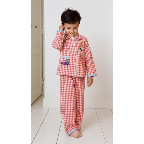 Cotton Kids Check Nightwear f9bde2f5d