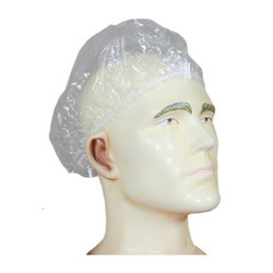 Balaji Enterprises Blue Green White Black Yellow Plastic Head Cap, Size: 18 & 21 Inch, for Hospital